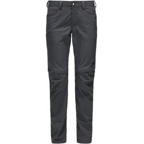 Haglöfs Zip Off Pantalon Femme, magnetite
